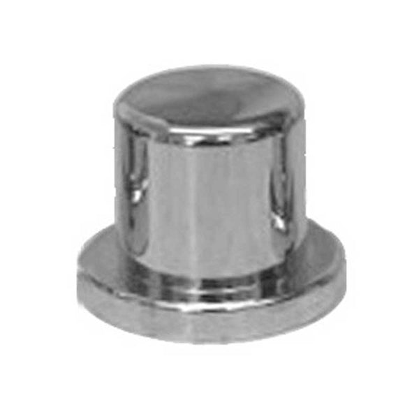 "Chrome Plastic 5/8"" and 15MM Top Hat Lug Nut Cover"