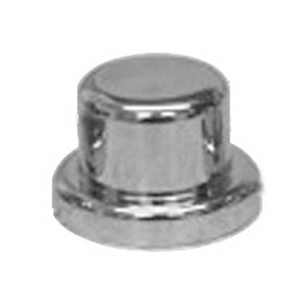 "Chrome Plastic 9/16"" and 14MM Top Hat Lug Nut Cover"