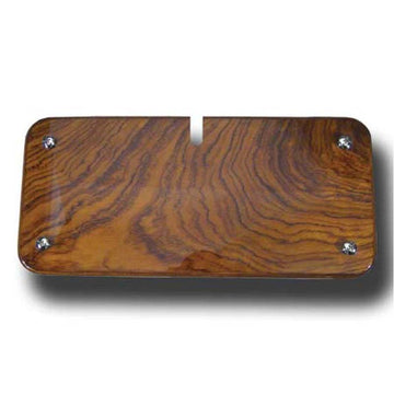 Rosewood Console Radio Access Panel Cover