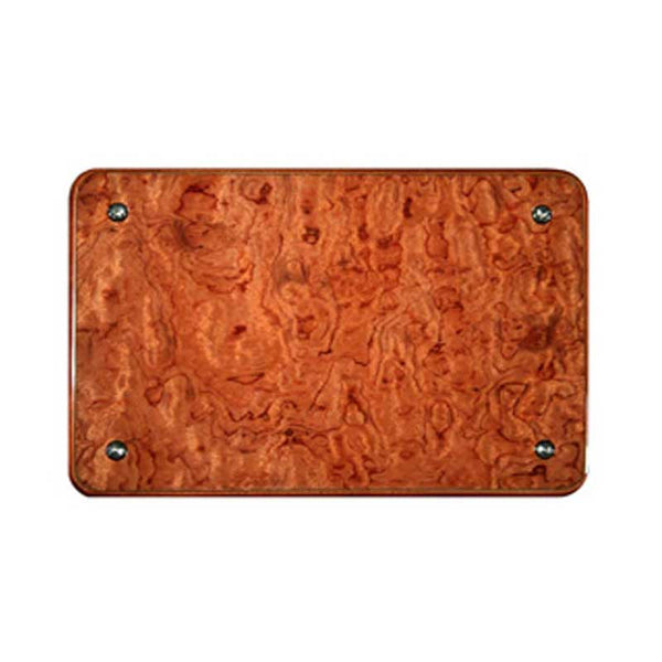 Rosewood Console Access Panel Cover
