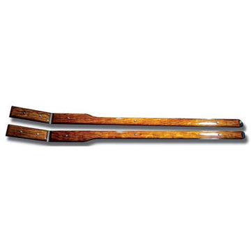 Rosewood Door Top Accent Strip For Peterbilt Ultracab
