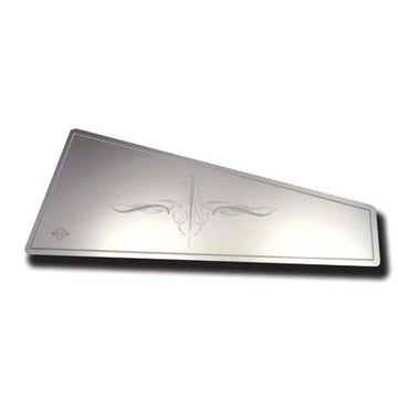Stainless Steel Dashboard Top Pocket Insert with E2 Flourish