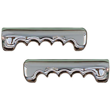 Aluminum Door Handle Pull with Fingergrips