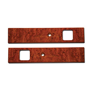 Rosewood Door Insert Panel For Manual Windows