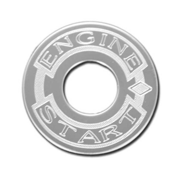 Stainless Steel Engine Start Plate