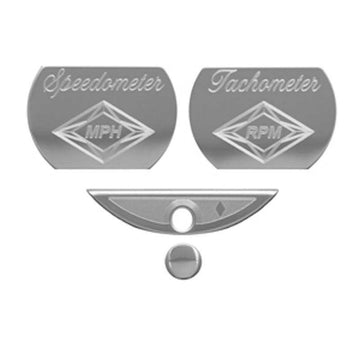 Stainless Steel Master Pack C Gauge Emblems