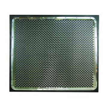 Peterbilt 359 And 379 Stainless Steel Oval Hole Pattern Grill