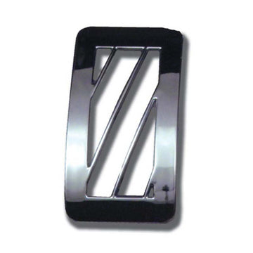 Chrome Passenger Side Window Defroster Vent Cover