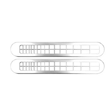 Chrome Windshield Defroster Vent Cover (Pair)