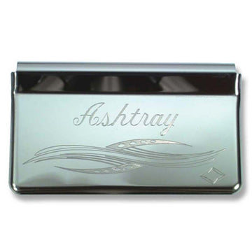 Stainless Steel Engraved Ashtray Cover