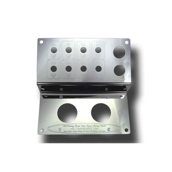 Stainless Steel Dash Control Panel