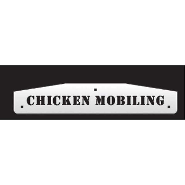 "Peterbilt Designer Flap Weights ""Chicken Mobiling"""