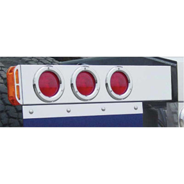 Universal 2 Piece Rear Light Bars with Stop / Turn / Tail Lights