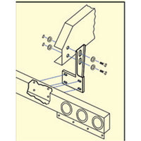 Universal 1 Piece Bar Mounting Brackets