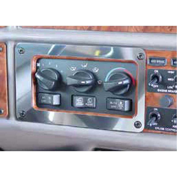 Peterbilt 330, 357, 377, 378, 379 and 385 AC/Heater Control Panel Trim