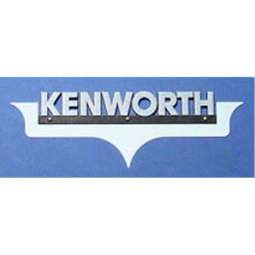 "Kenworth Side of Hood Logo Trim - ""Embelisher"""