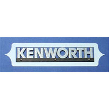 "Kenworth Side of Hood Logo Trim - ""Aura"""