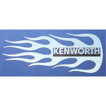 "Kenworth Side of Hood Logo Trim - ""Blaze"""