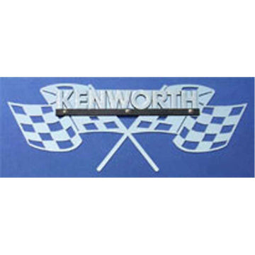 "Kenworth Side of Hood Logo Trim - ""Victory"""