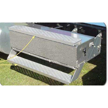 "International Battery Or Tool Box Step Trim, 46.25"" x 1.63"""