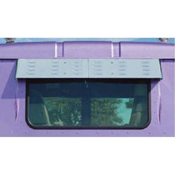Day Cab Rear Window Louvered Drop Visor