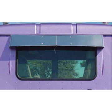 Day Cab Rear Window Bow-Tie Visor