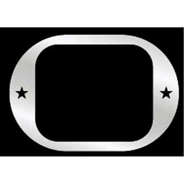Western Star Door Latch Trim With 2 Small Stars