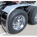 80 Inch Smooth Low Rider Half Tandem Fender with Rolled Edge