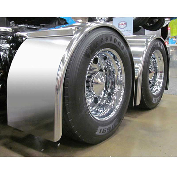96 Inch Smooth Long Single Axle Fender