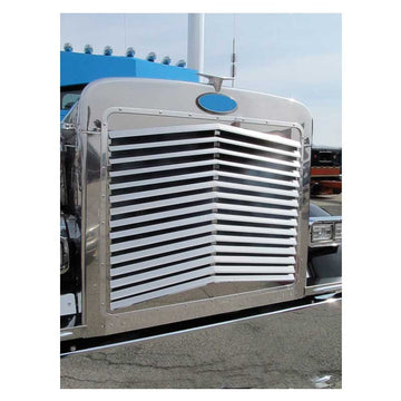Peterbilt 379 Extended Hood Angled Louvered Grille