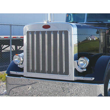 Peterbilt 379 18 Gauge Front Grill With Oval Punchouts
