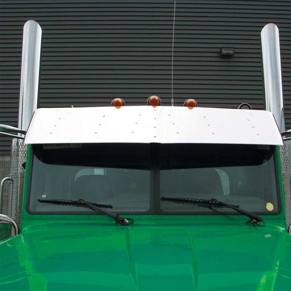 16 Inch Peterbilt 379 Ultra Cab Sunvisor with 6 Brackets