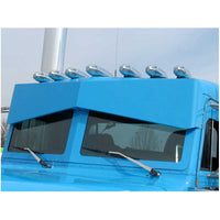 "14 Inch Peterbilt Bowtie ""Southern Style"" Sunvisor"
