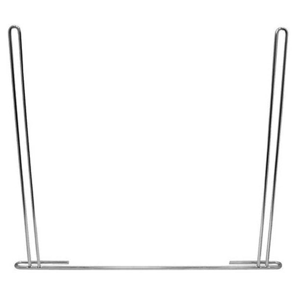 24 Inch x 21 Inch Chrome or Stainless Steel Anti-Sail Bracket