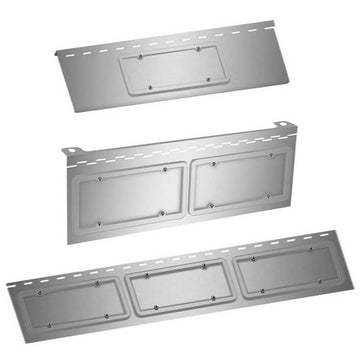 Western Star Bumper Face License Plate Holder with 3 Options