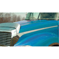 Freightliner Columbia Hood and Cab Accent Trim