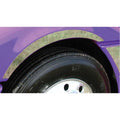 Stainless Freightliner Columbia Side Fender Trim