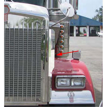 Kenworth W900 Side Grill Deflector