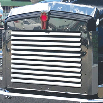 Kenworth T800 Grille With 11 Louvered Bars