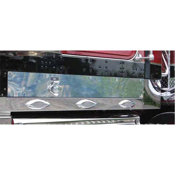 Kenworth W900 Replacement Stainless Steel Kick Panel