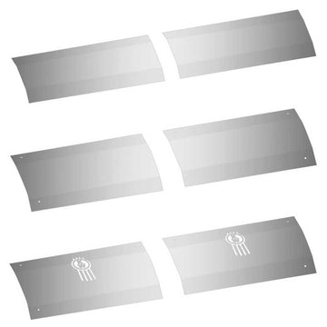 Kenworth T680 Stainless Steel Kick Plates