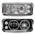Universal LED Projector Headlight Assembly