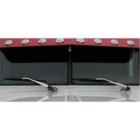Peterbilt Stainless Steel Wiper Arm Covers