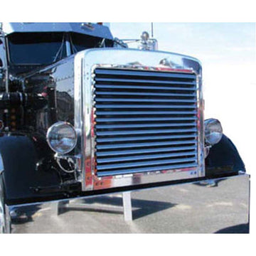 Peterbilt 379 Extended Hood Louvered Grill