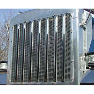 34 Inch Peterbilt 379 Extended Hood Grille Bars