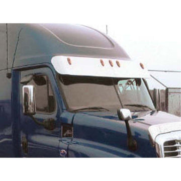 Freightliner Cascadia 12 Inch Raised and Mid Roof Sunvisor