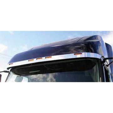Stainless Volvo Sunvisor Extension Trim 2003 & Newer