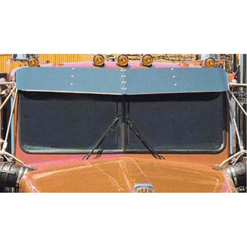 11 Inch Kenworth Flat Glass Sunvisor