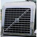 Stainless Volvo Bug Deflector & Grill Surround