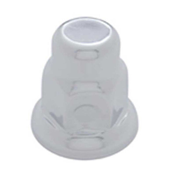30mm By 2 Inch Chrome Steel Tall Nut Cover With Flange